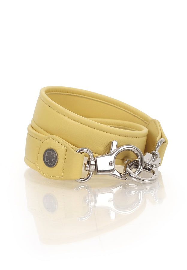 Lambskin Leather Strap (Soft Yellow)