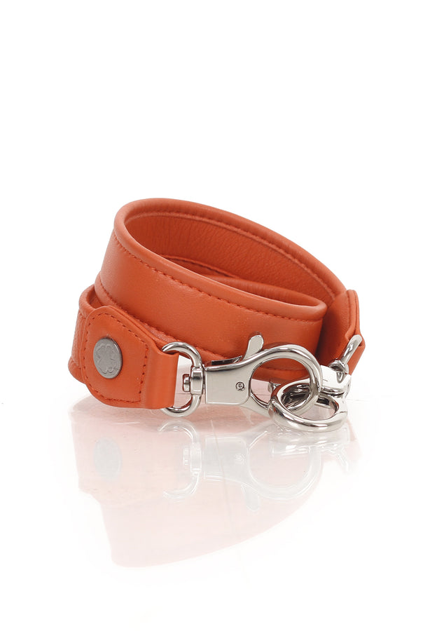 Lambskin Leather Strap (Orange)