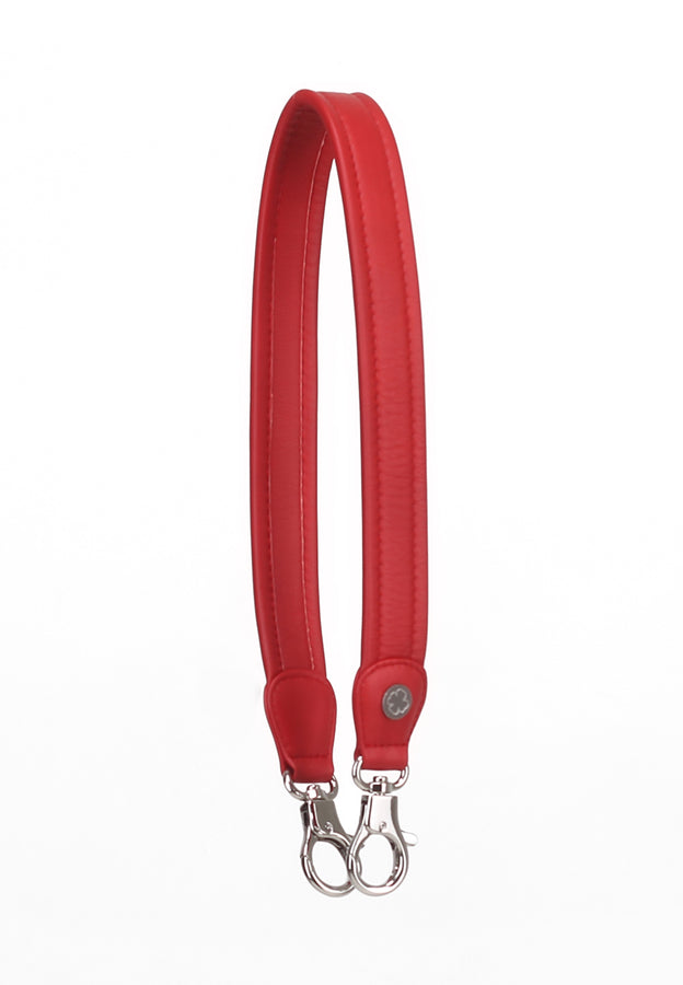 Lambskin Leather Strap (Red)