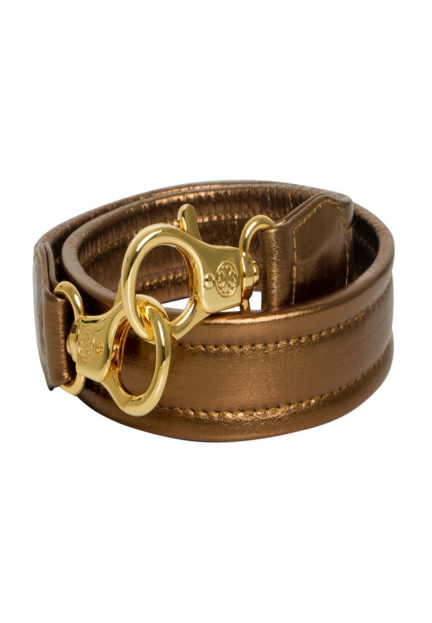 Lambskin Leather Straps (Gold Goddess)