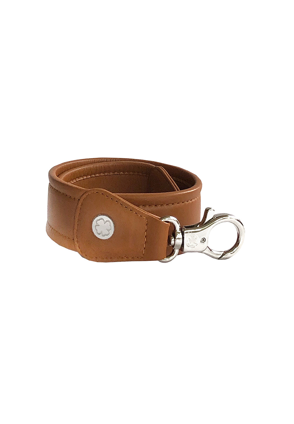 Lambskin X-Wide Leather Straps (True Brown)