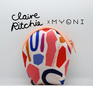 "Claire Richie x Myoni ""clam bag"""