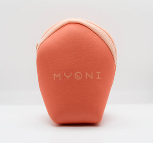 "Signature Myoni Coral ""clam bag"""