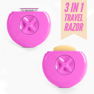 3 In 1 Travel Razor
