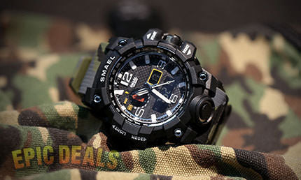 smael military special ops watch free shipping today use coupon
