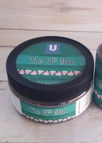 Urbane shave Co - The 13th Man shave soap