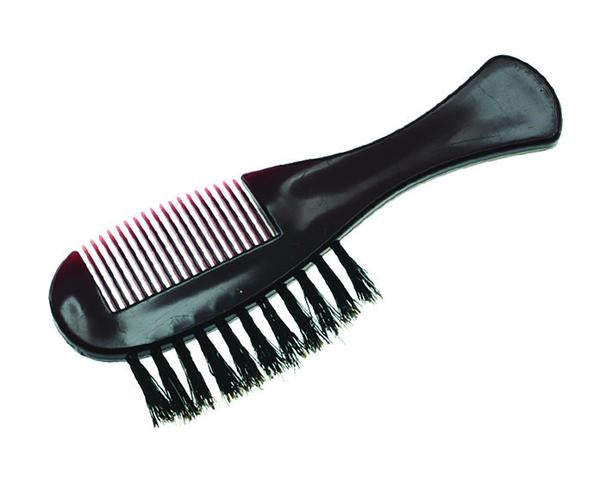 PUREBADGER COLLECTION MOUSTACHE COMB/BRUSH
