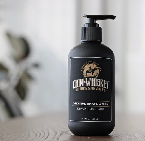 Chin Whiskey Original Shave Cream