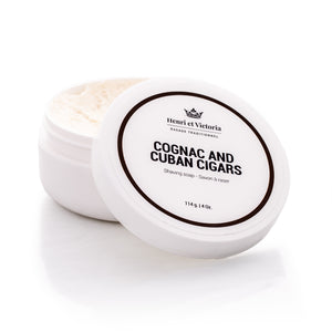 Henri et Victoria - Cognac and Cuban Cigars Shaving Soap