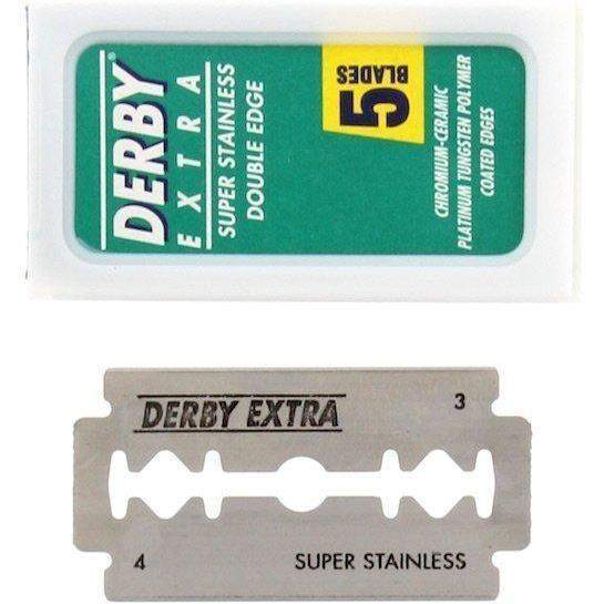 DERBY EXTRA DOUBLE EDGE RAZOR BLADES - 5 Blade Pack