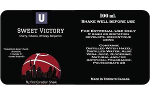 Sweet Victory aftershave splash (preorder)