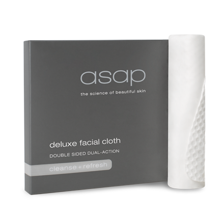 ASAP DUAL ACTION  DELUXE FACIAL CLOTH