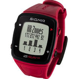 Sigma iD.Run HR Sport Watch - Red