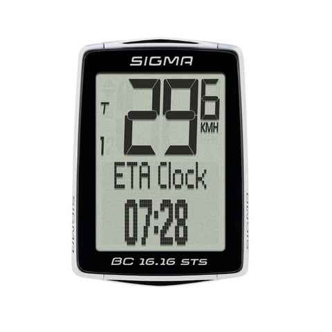 Sigma BC 16.16 STS CAD Wireless Cycling Computer