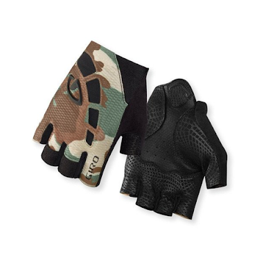 Giro Zero Gloves - Black/Green Camo
