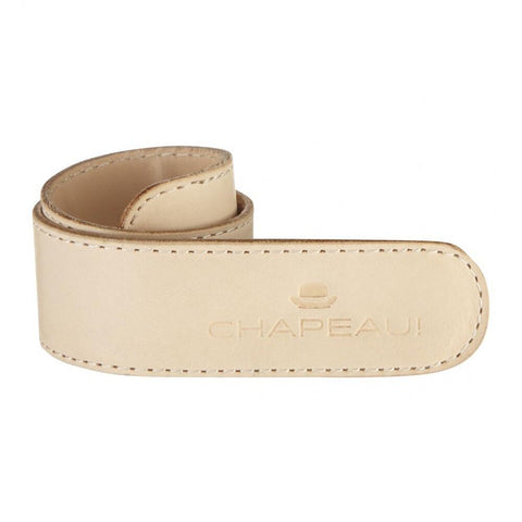 Chapeau! Leather Trouser Strap - Natural