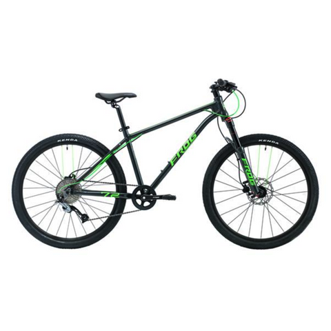 Frog MTB 72 Kids Bike - Metalic Grey/Neon Green