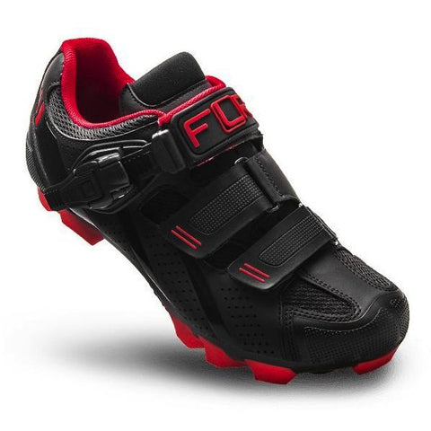 FLR F-65 III MTB Shoes - Black/Red