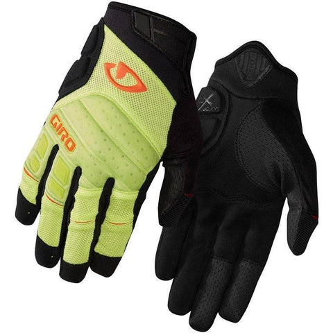 Giro Xen Gloves - Bright Lime/Black