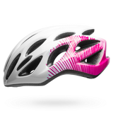 Bell Tempo Joy Ride Helmet - Gloss White/Cherry Fibers