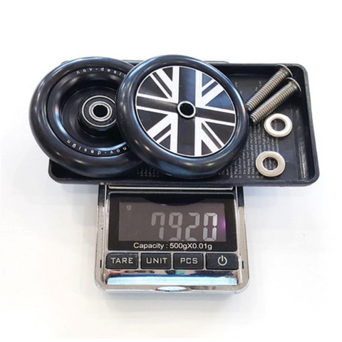 NovDesign Brompton Easy Wheel - Black Union Jack