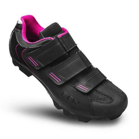 FLR F-55 III MTB Shoes - Black/Pink