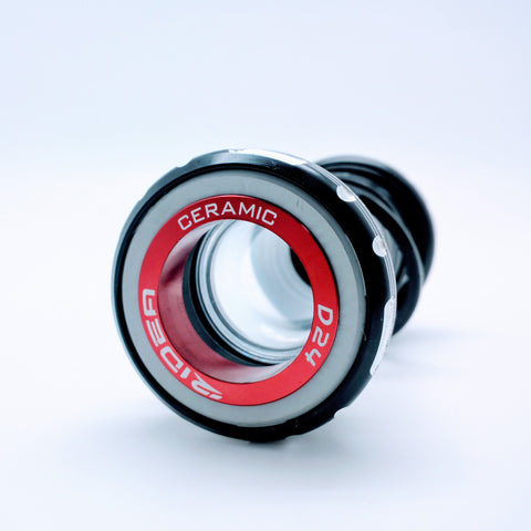 Ridea LSBSAR24C-BK Ceramic Bearing BB24 Bottom Bracket