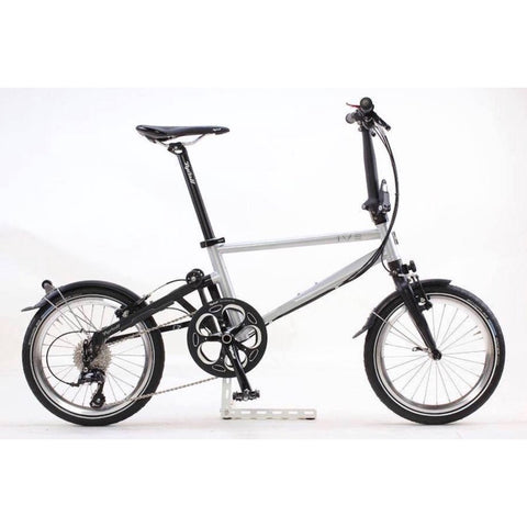 Tyrell IVE Folding Bike -Silver Metallic/Matte Black