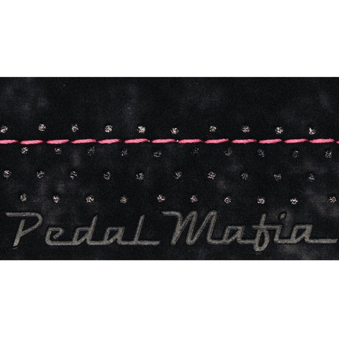 Pedal Mafia SS Bar Tape - Black/Pink Stitch