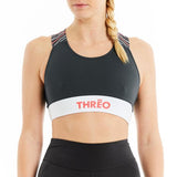 Threo Holland Park Crop Top - Grey