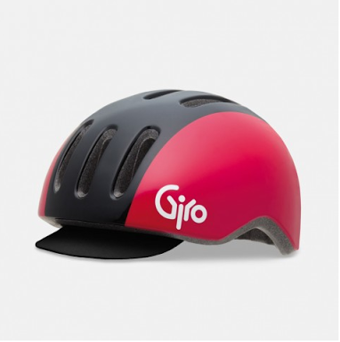 Giro Reverb Helmet - Black/Red Retro