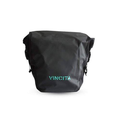 Vincita B050WP-V Small Waterproof Single Pannier (1 Pair) - Black
