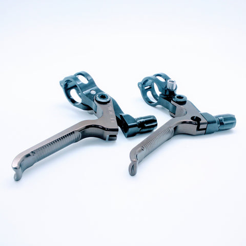 Ridea ESCH2-CR Brompton 3D Short Brake Lever - Black Copper (2pcs)