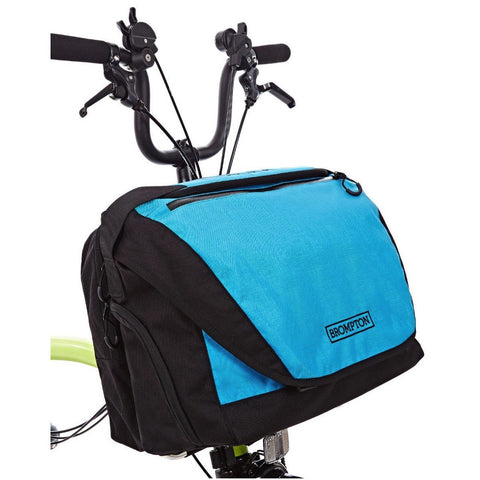 Brompton C Bag - Black/Lagoon Blue
