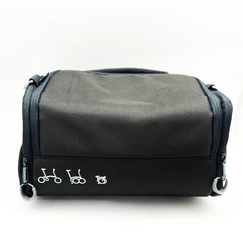 Caca Mini Front Bag - Black