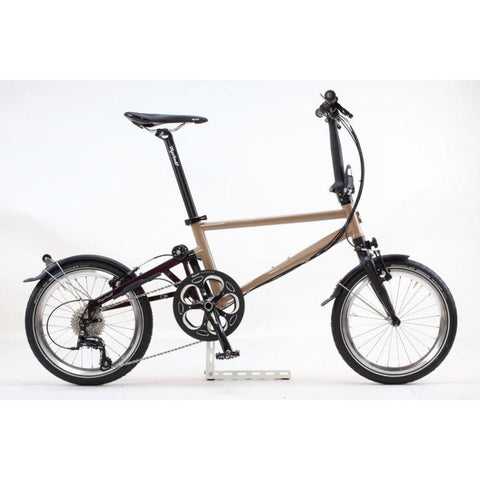 Tyrell IVE Folding Bike - Charcoal/Iris Purple