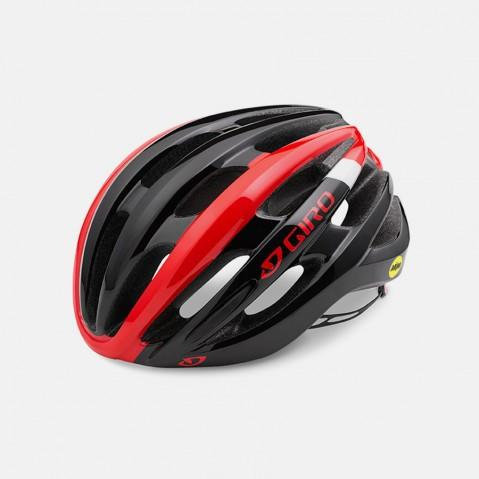Giro Foray Helmet - Bright Red/Black