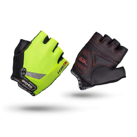 GripGrab ProGel Hi-Vis Glove - Yellow Fluo