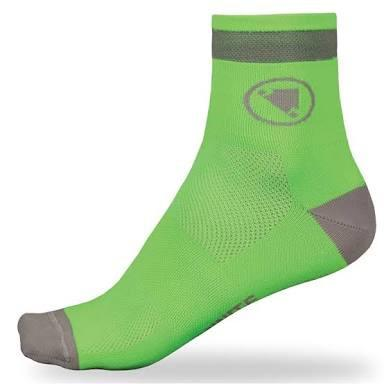 Endura Luminite Sock Twin Pack (2 Pairs) - Hi Viz Green