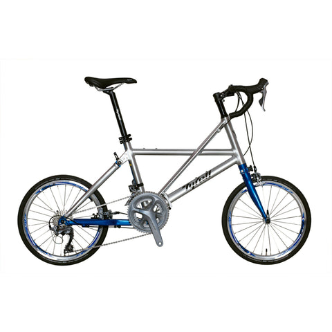 Tyrell FX Folding Bike (Drop Bar/Shimano 105) - Limited Blue Edition