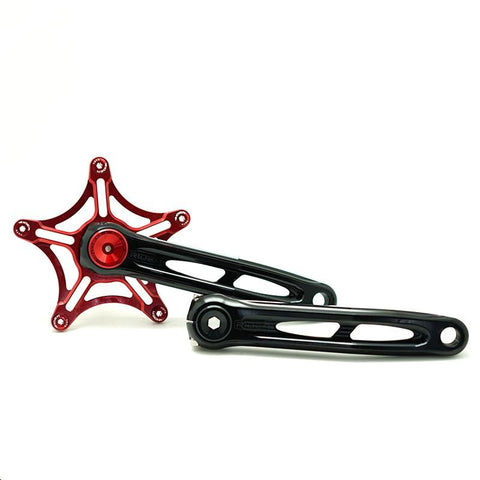 Ridea ITM4FT170SMA-15 Brompton Crank - Black/Red