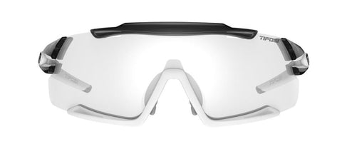 Tifosi Aethon Crystal Smoke/White Sunglasses - Light Night Fototec Lens
