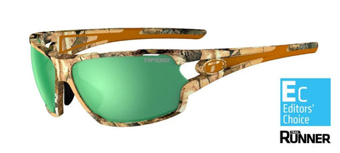 Tifosi Amok Camo Sunglasses - Enliven™ On-Shore Polarized Lens