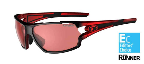 Tifosi Amok Race Red Sunglasses - High Speed Red Fototec Lens