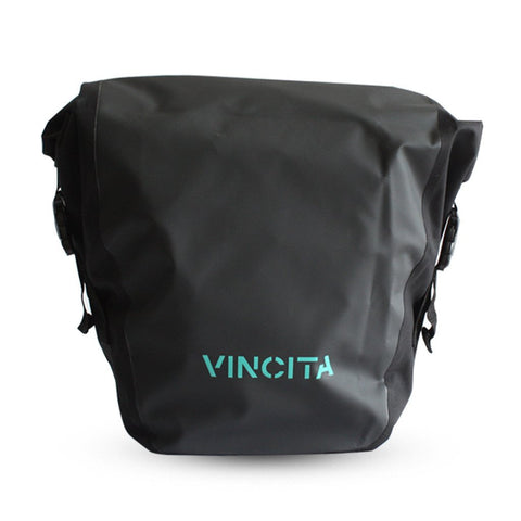 Vincita B060WP-V Large Waterproof Single Pannier (1 Pair) - Black