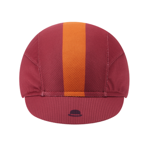 Chapeau! Lightweight Central Stripe Cap - Sangria
