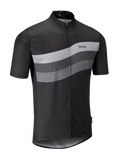 Chapeau! Tempo Jersey - Wave Chest Stripe, Black