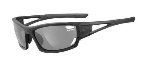 Tifosi Dolomite 2.0 Matte Black Sunglasses - 3 Lenses: Smoke/AC Red/Clear