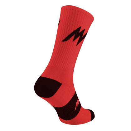 Morvelo Series Emblem Red Socks