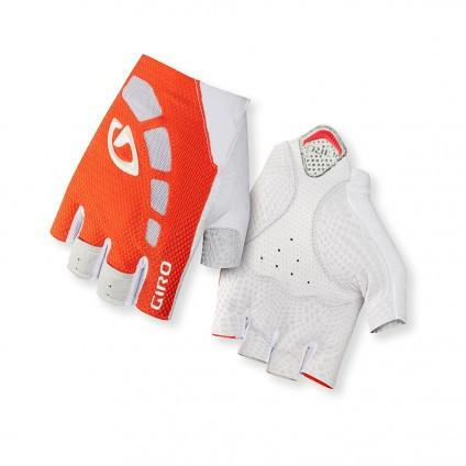 Giro Zero Gloves - Fluorescent Orange/White